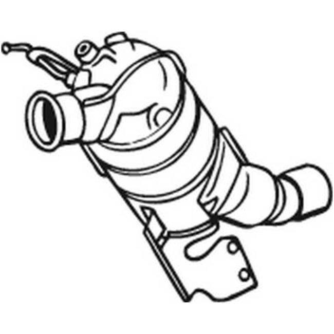 Filtre À Particules Bosal 097-200