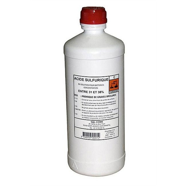 Acide 233 Lectrolyte 1 Litre Norauto Fr
