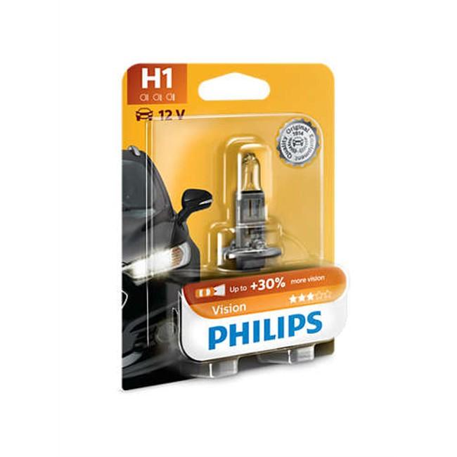 1 ampoule philips h1 vision 55 w 12 v. Black Bedroom Furniture Sets. Home Design Ideas