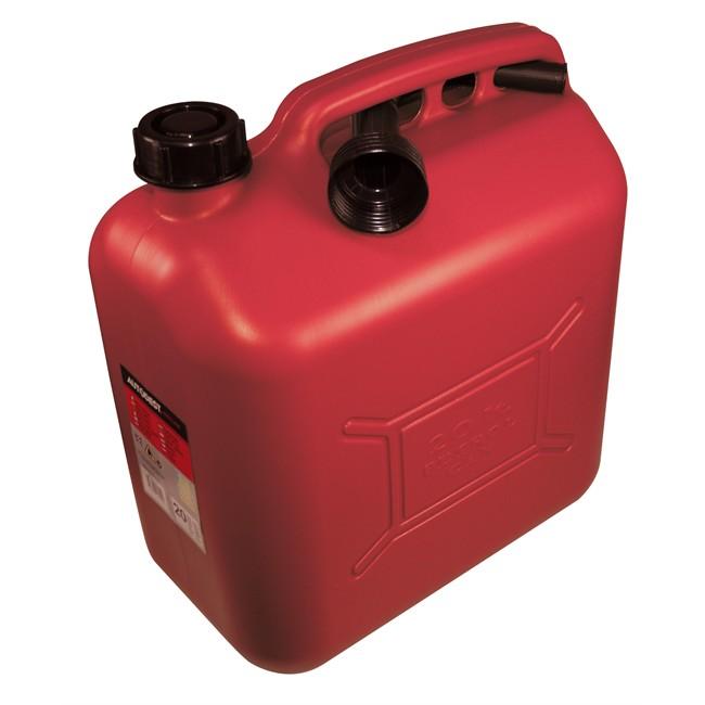 Jerrican Carburant En Plastique Rouge Autobest 20 L