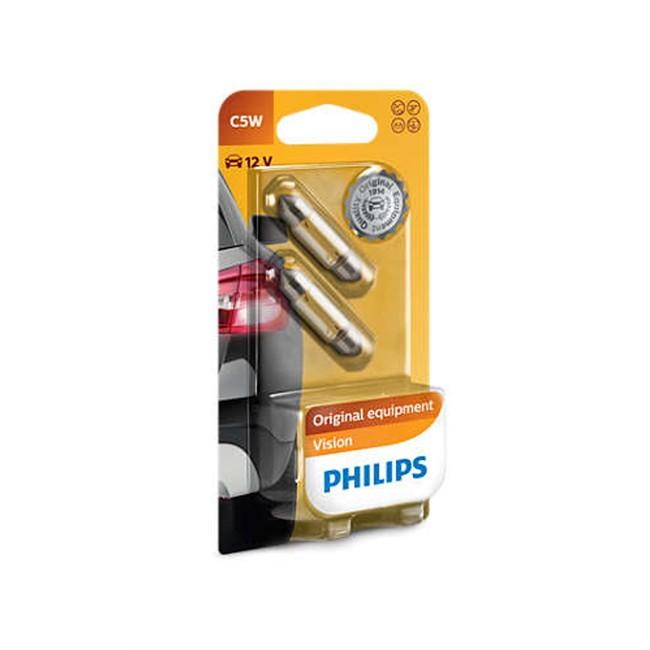 2 Ampoules Philips C5w 5 W 12 V