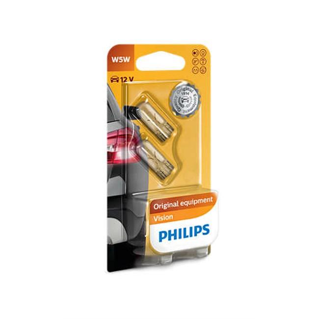 2 Ampoules Philips W5w 5 W 12 V