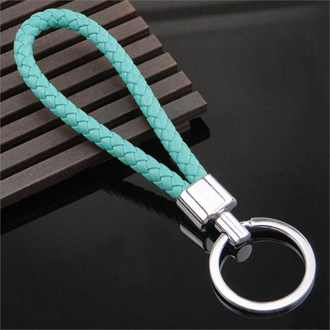 Porte-clés Tresse Bleu Clair
