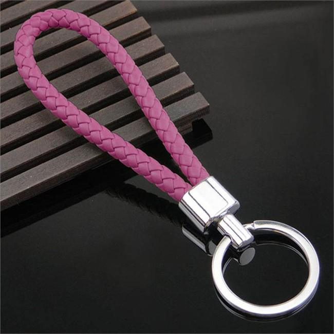 Porte-clés Tresse Fushia