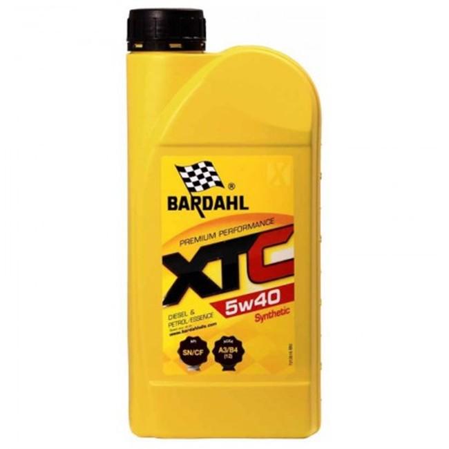 Huile Moteur Bardahl Xtc 5w40 Essence Et Diesel 1 L
