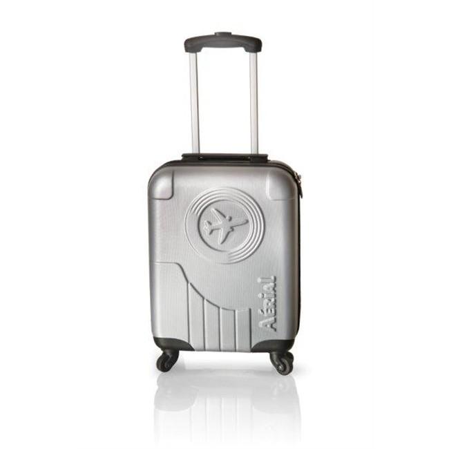 valise cabine rigide classic 50 cm grise aerial. Black Bedroom Furniture Sets. Home Design Ideas