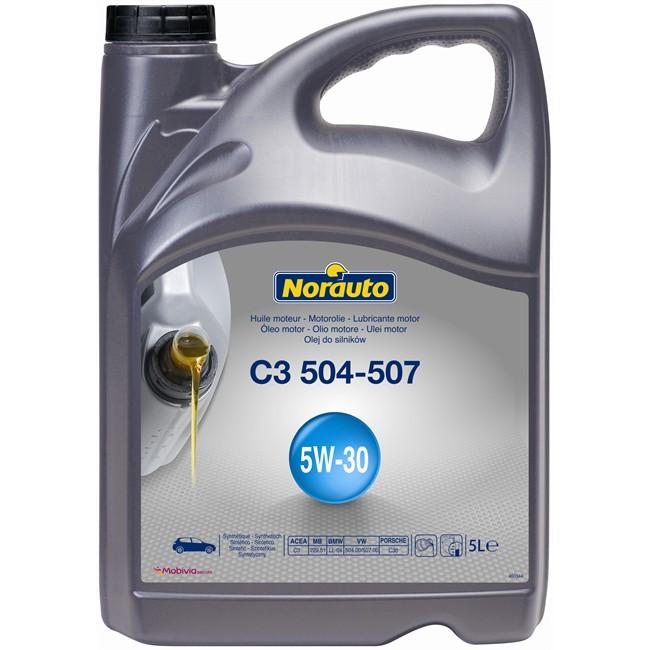 Huile Moteur Norauto C3 504-507 5w30 Essence Et Diesel 5 L