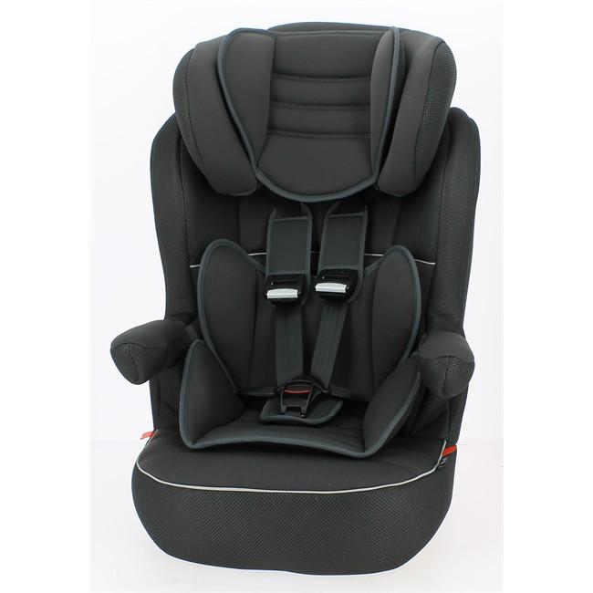Si ge auto noir norauto groupe 1 2 3 for Siege auto 1 2