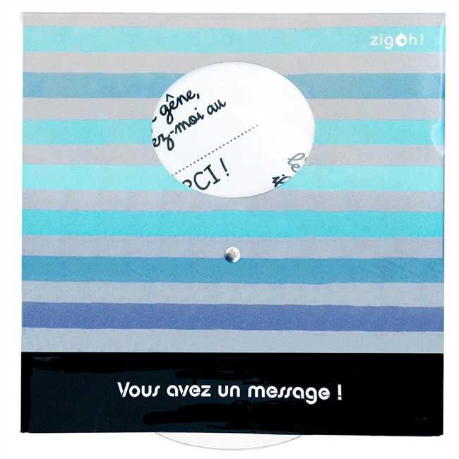 1 disque de stationnement zone bleue message bayo zigoniric. Black Bedroom Furniture Sets. Home Design Ideas