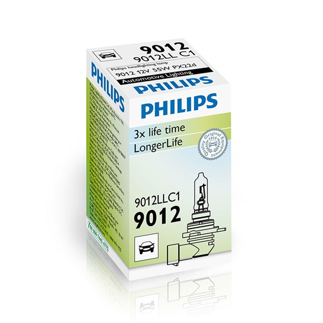 1 Ampoule Philips Hir 2 Longlife Ecovision 55 W 12 V