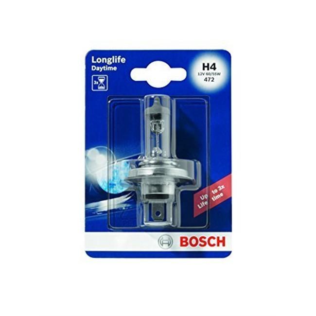 1 Ampoule Bosch H4 Longlife Daytime 12 V