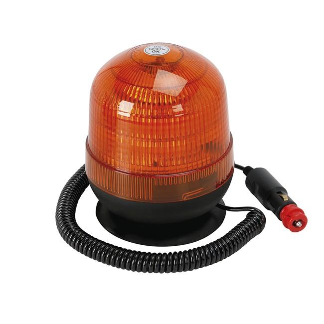gyrophare gyroflash 18 led avec support magn tique spotlight. Black Bedroom Furniture Sets. Home Design Ideas
