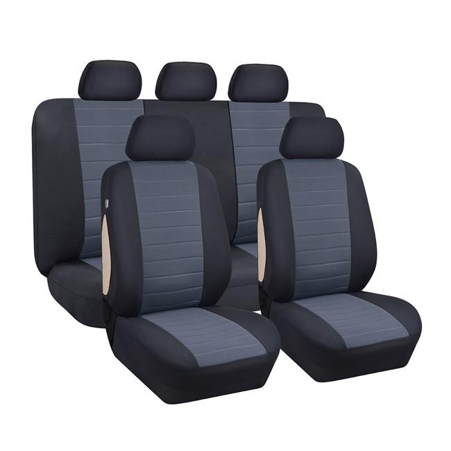 jeu complet de housses universelles voiture velours. Black Bedroom Furniture Sets. Home Design Ideas