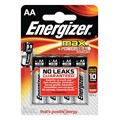 4 piles AA/LR6 ENERGIZER Alkaline Max +Power Seal