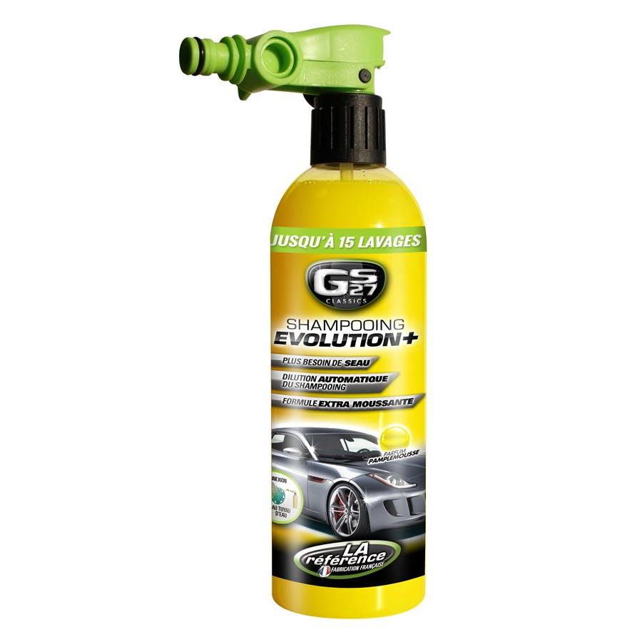 Shampooing Evolution + GS27 750 ml