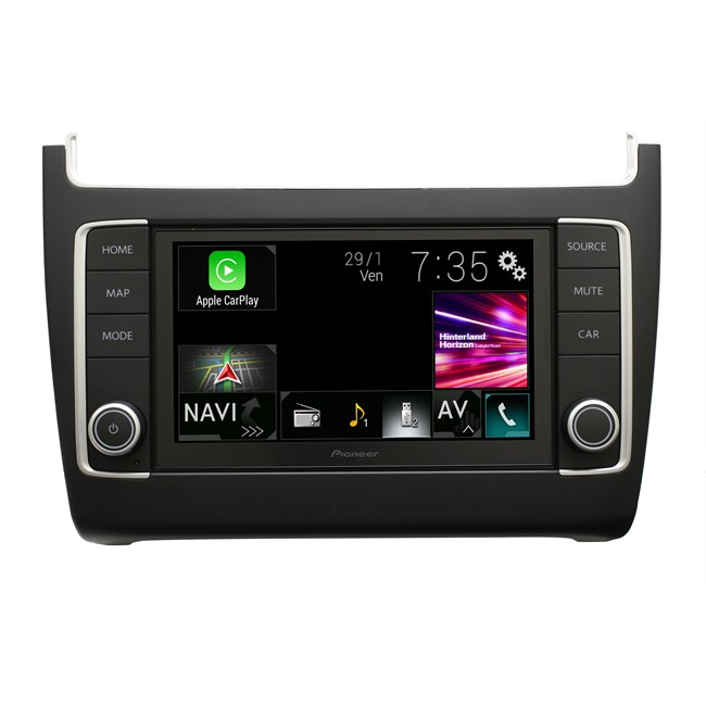 autoradio pioneer navgate evo avic evo1 pl1 val noir satin pour volkswagen. Black Bedroom Furniture Sets. Home Design Ideas
