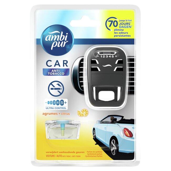 Désodorisant Voiture Rechargeable Ambipur Car Anti-tabac