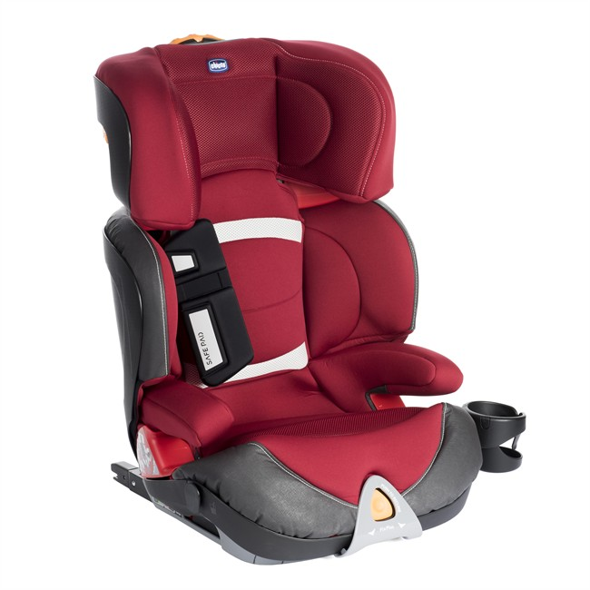 si ge auto isofix chicco oasys evo fixplus rouge groupe 2 3. Black Bedroom Furniture Sets. Home Design Ideas