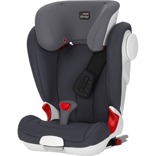 si ge auto isofit britax romer kidfix ii xp sict gris groupe 2 3. Black Bedroom Furniture Sets. Home Design Ideas