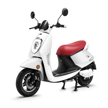 Scooter électrique Wayscral E-start Blanc
