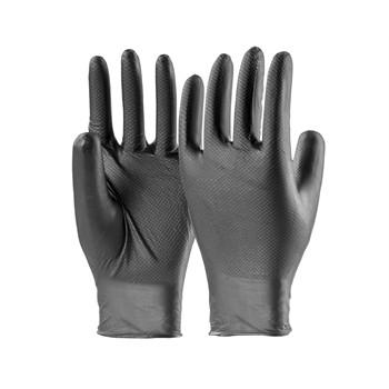 sachet de 10 gants en nitrile pour travaux m caniques en. Black Bedroom Furniture Sets. Home Design Ideas