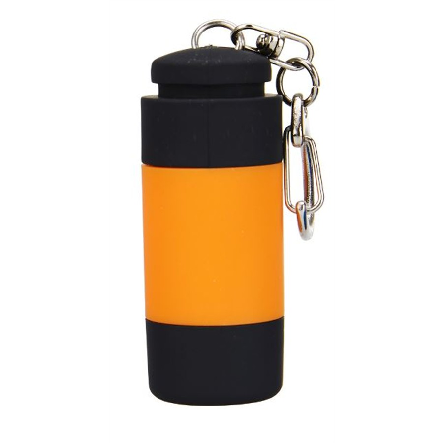 Lampe torche USB LED orange