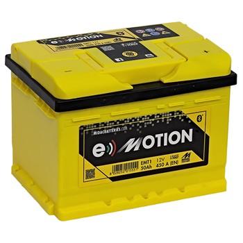 batterie midac e motion emt1 50 ah 450 a. Black Bedroom Furniture Sets. Home Design Ideas