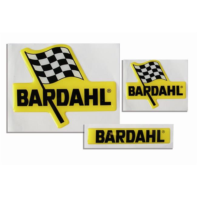 3 Autocollants 3d Bardahl