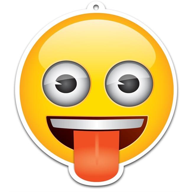 Désodorisant Voiture Emoji Effronté Vanille