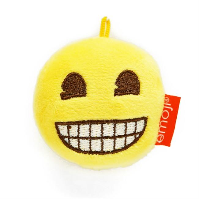 Désodorisant Voiture Emoji Peluche Riant Vanille