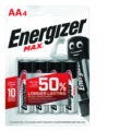 4 Piles ENERGIZER MAX AA/LR6