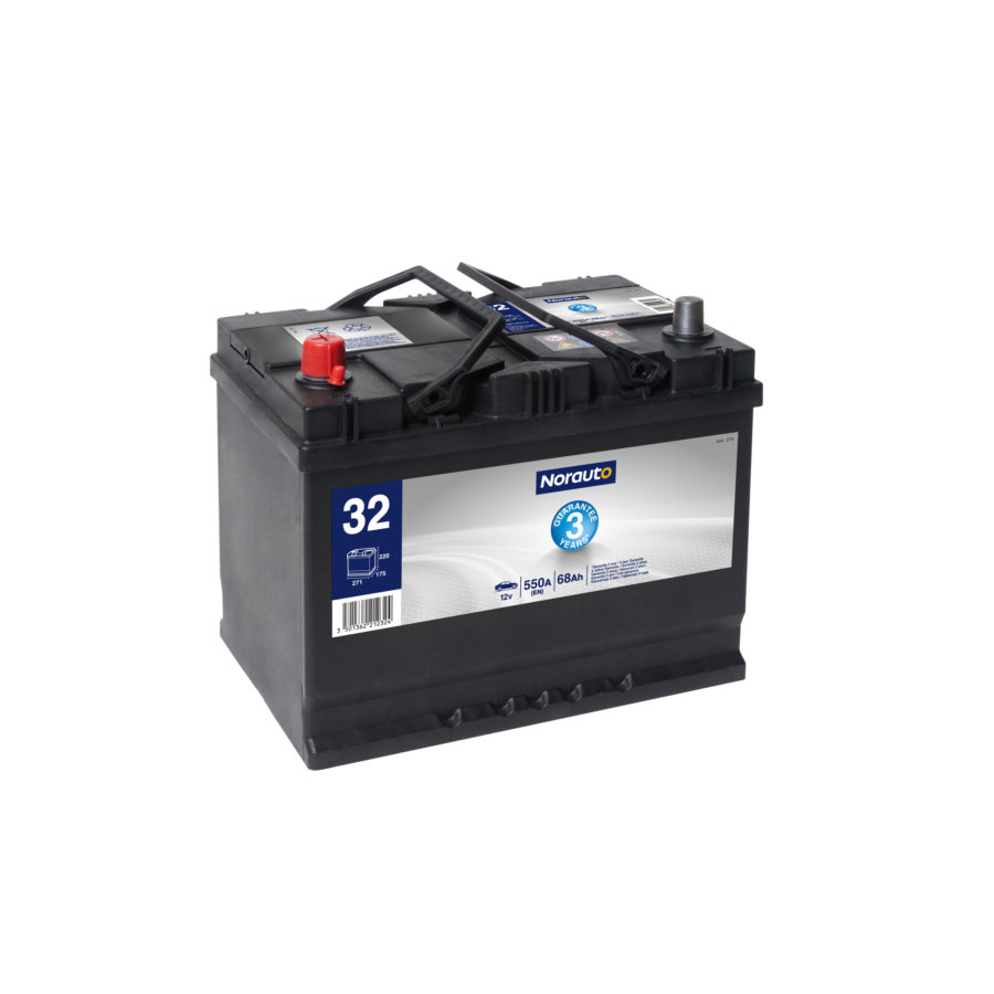 Batterie NORAUTO BV32 68 Ah - 550 A