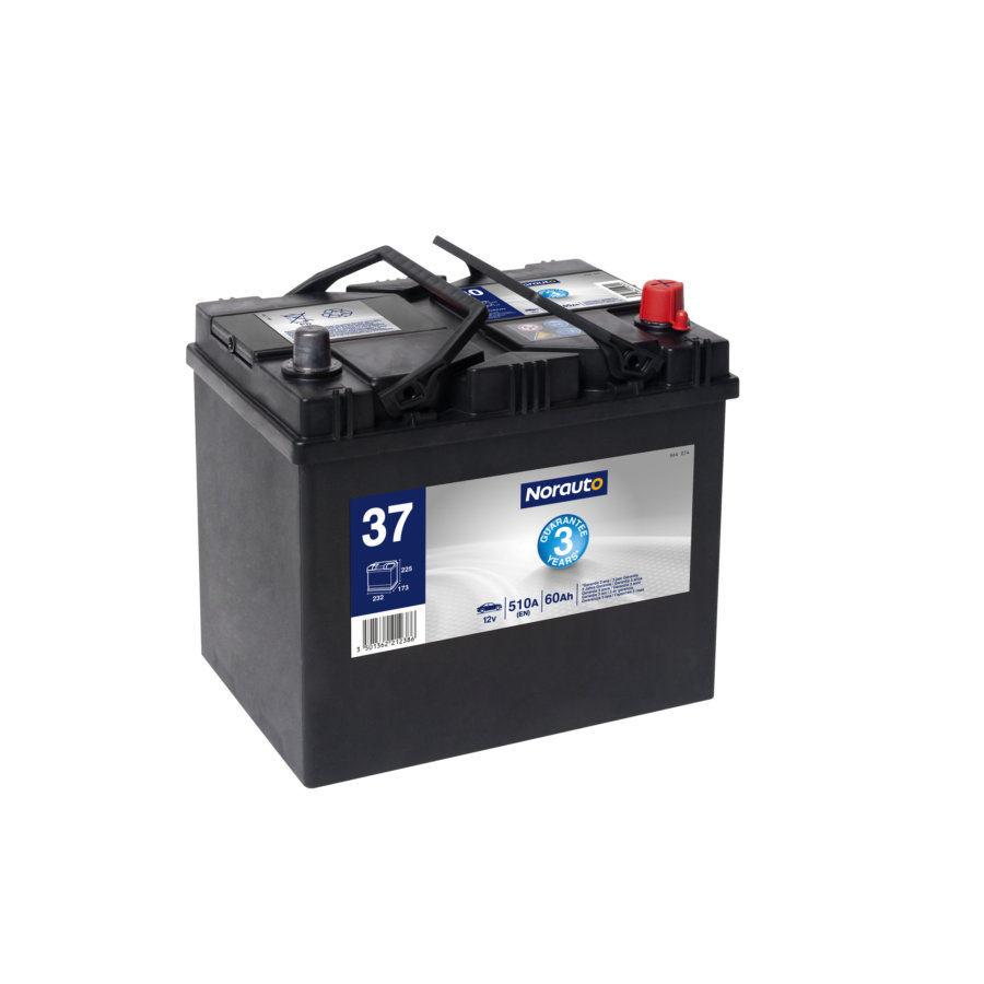 Batterie NORAUTO BV37 60 Ah - 420 A