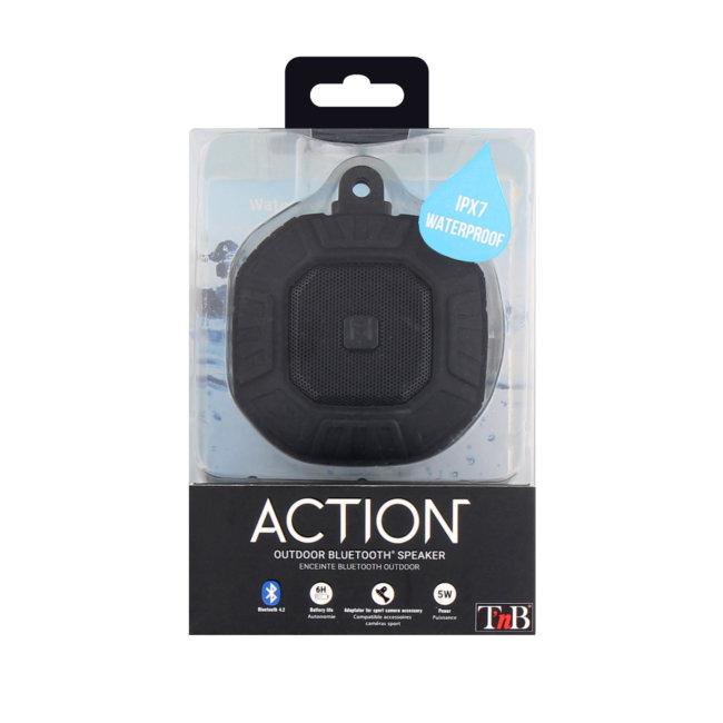 Enceinte Bluetooth Waterproof Action Tnb Noire