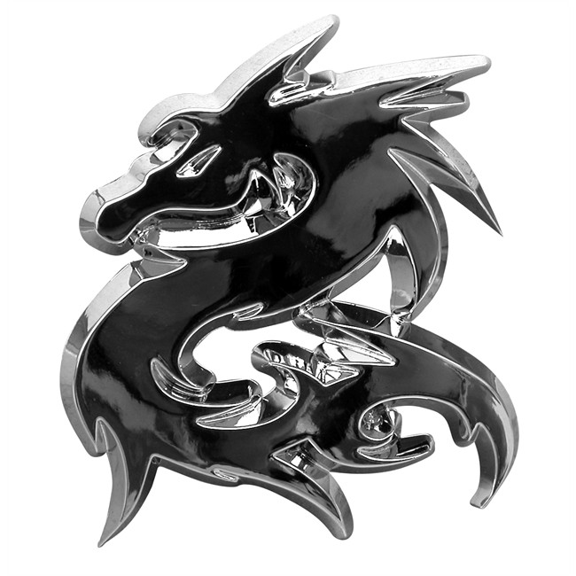 1 badge autocollant chrom cadox dragon. Black Bedroom Furniture Sets. Home Design Ideas