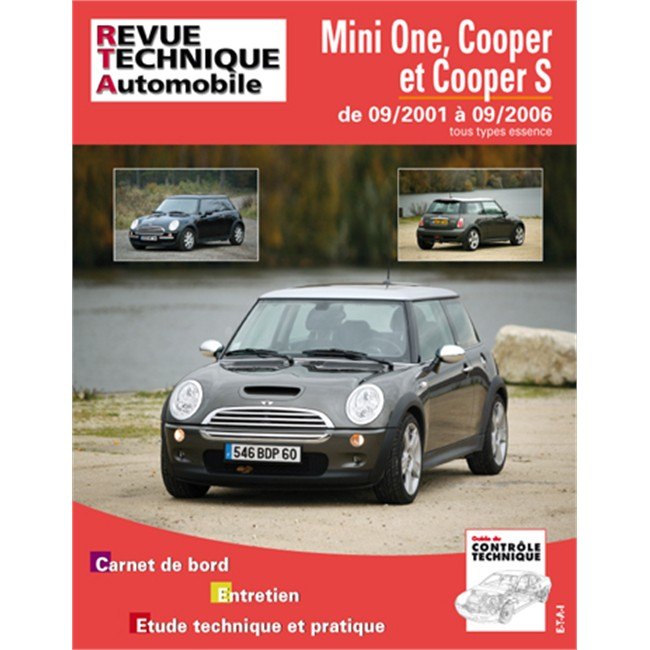 revue technique etai pour mini cooper one et s jusque 2006. Black Bedroom Furniture Sets. Home Design Ideas