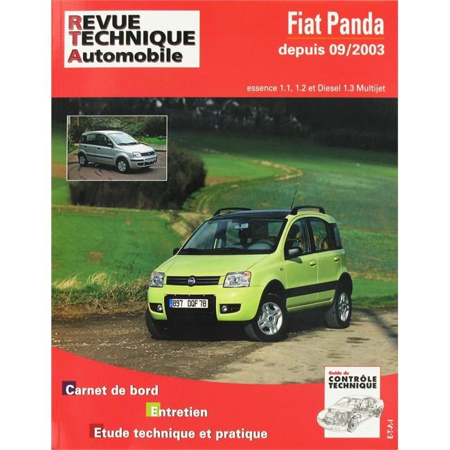 revue technique etai pour fiat panda essence et diesel partir de 2003. Black Bedroom Furniture Sets. Home Design Ideas
