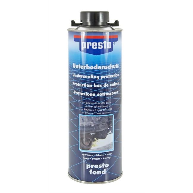 cartouche bitume pour protection de bas de caisse noir presto 1000 ml. Black Bedroom Furniture Sets. Home Design Ideas