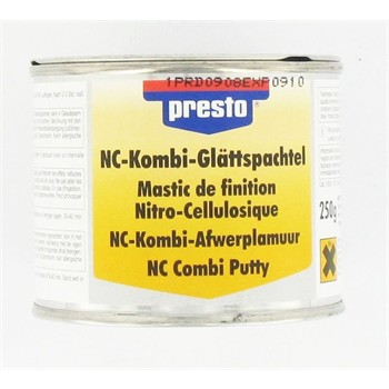 Mastic de finition nitro-cellulosique PRESTO 250 g