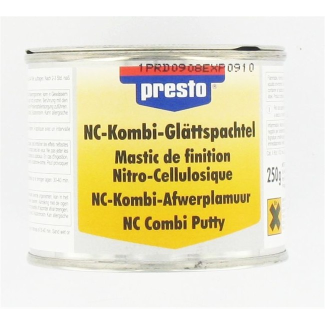 mastic de finition nitro cellulosique presto 250 g. Black Bedroom Furniture Sets. Home Design Ideas