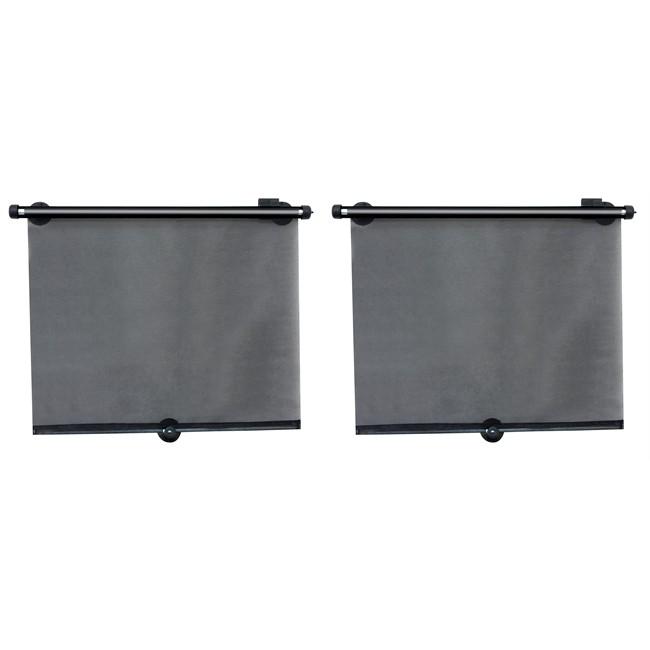 2 rideaux lat raux pare soleil enrouleur 60 cm x 45 cm. Black Bedroom Furniture Sets. Home Design Ideas