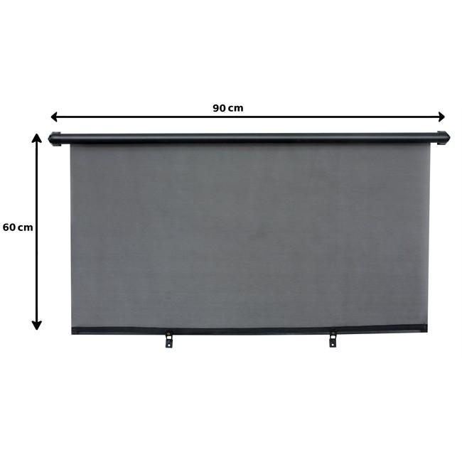1 rideau pare soleil enrouleur arri re norauto 90 x 60 cm. Black Bedroom Furniture Sets. Home Design Ideas