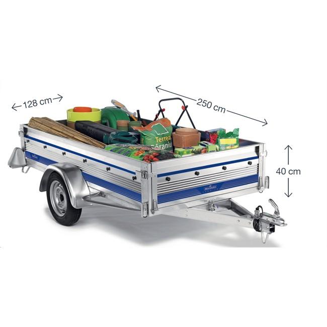 remorque 750 kg norauto premium 256. Black Bedroom Furniture Sets. Home Design Ideas
