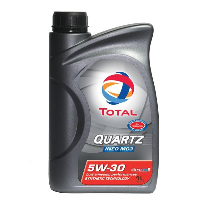 Huile Moteur Quartz Ineo Mc3 Total 5w30 Essence Et Diesel 1 L