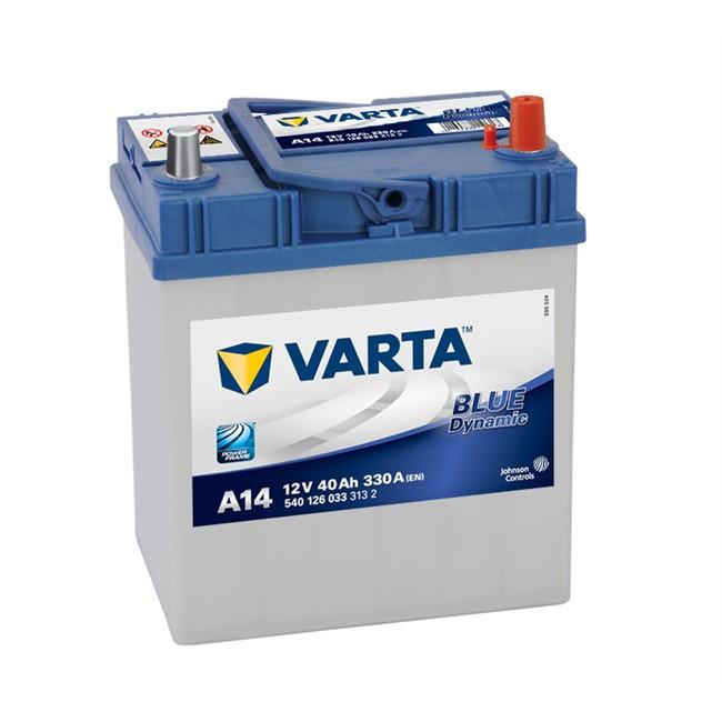 Batterie Varta A14 Blue Dynamic 40 Ah - 330 A