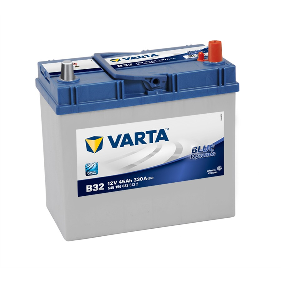 Batterie VARTA B32 Blue Dynamic 45 Ah - 330 A