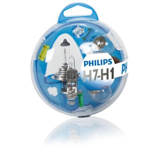 Coffret Ampoules H7/h1 Philips 6 Ampoules