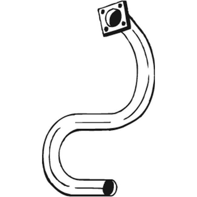 Tube D'échappement Bosal 730-261