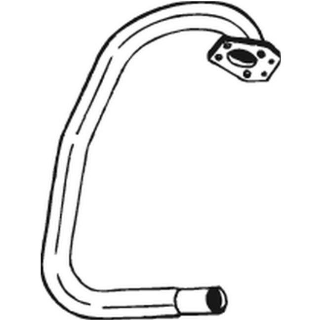Tube D'échappement Bosal 785-497