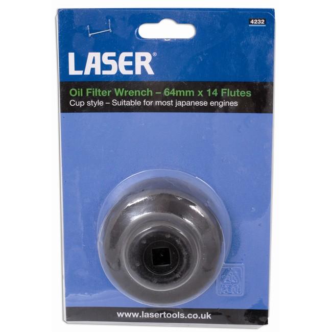 cl de filtre huile 65 mm carr 3 8 39 39 laser 4954. Black Bedroom Furniture Sets. Home Design Ideas
